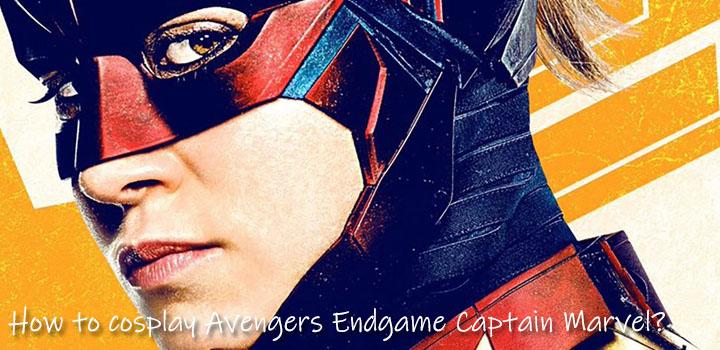 How to cosplay Avengers Endgame Captain Marvel