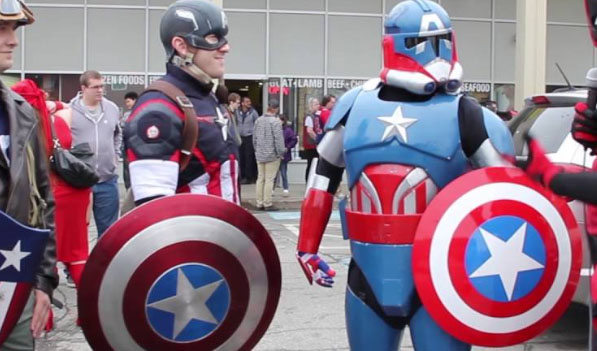 captain america cosplay costume