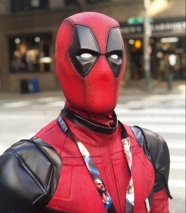 deadpool costume movie replica