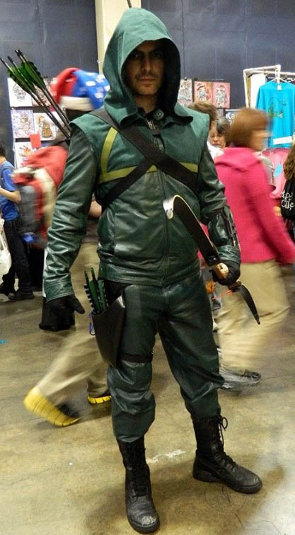 green arrow cosplay by fans