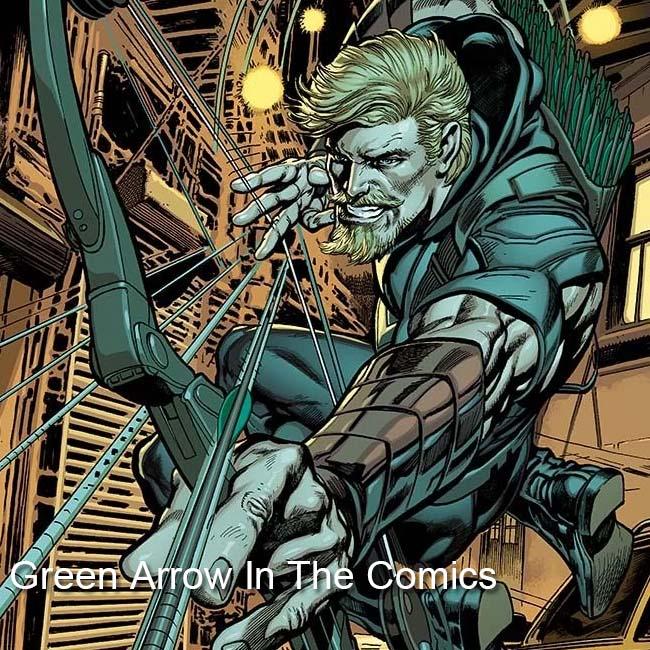 Green Arrow In The Comics