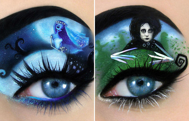 eyes makeup is importnat part of cosplay